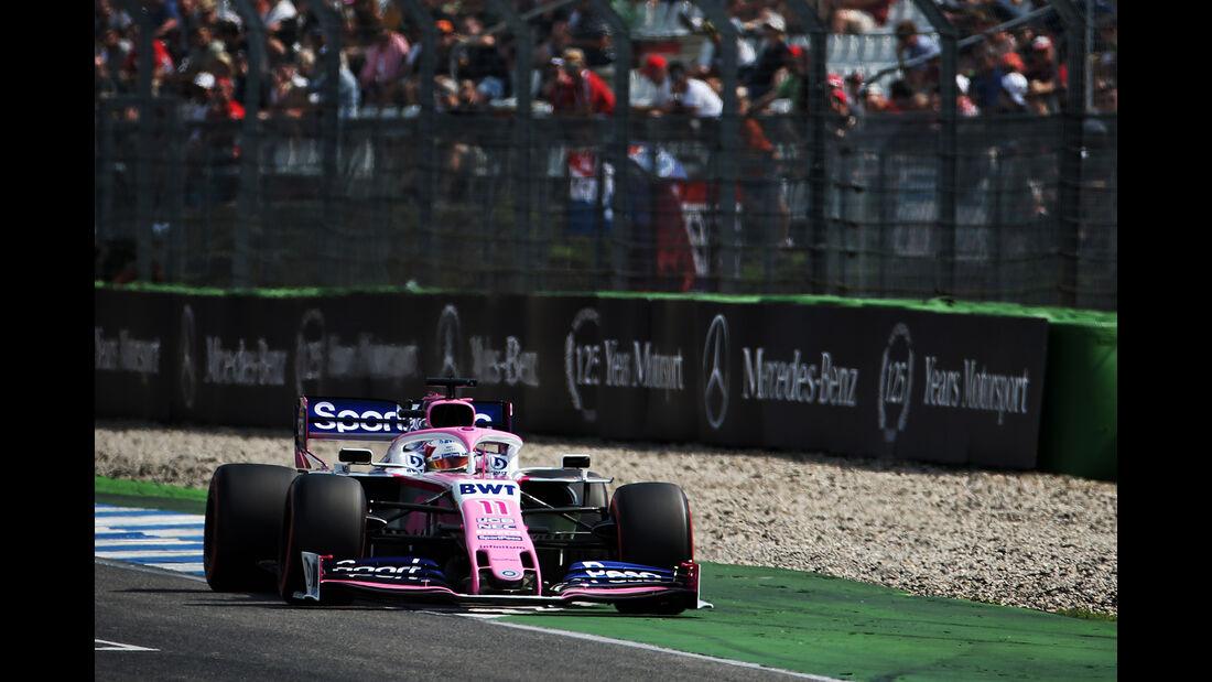 Sergio Perez - Racing Point - GP Deutschland 2019 - Hockenheim - Qualifying
