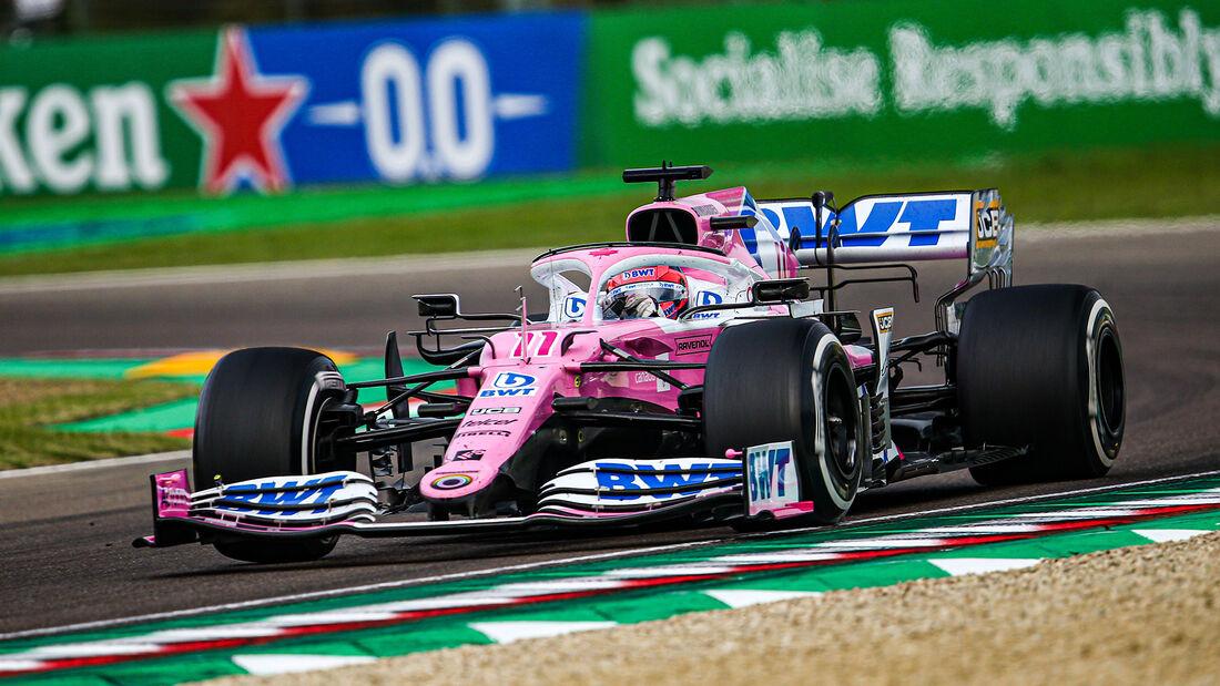 Sergio Perez - Racing Point - GP Emilia-Romagna 2020 - Imola - Rennen