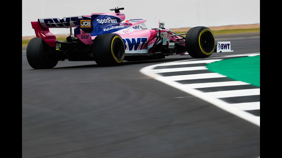 Sergio Perez - Racing Point - GP England - Silverstone - Freitag - 12.7.2019