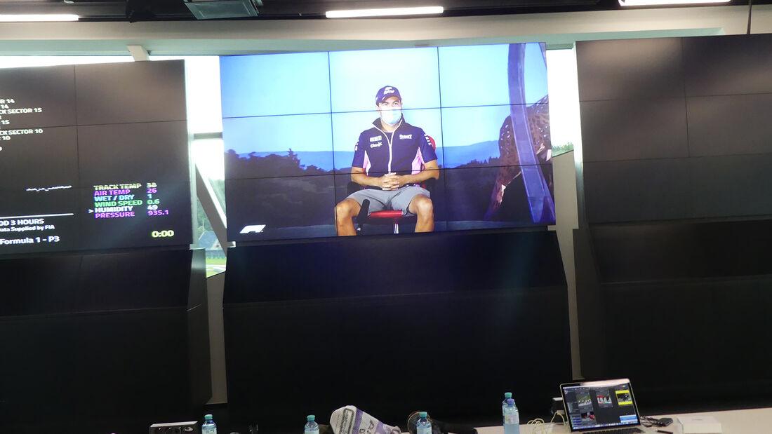 Sergio Perez - Racing Point - GP Österreich 2020 - Spielberg - Impressionen