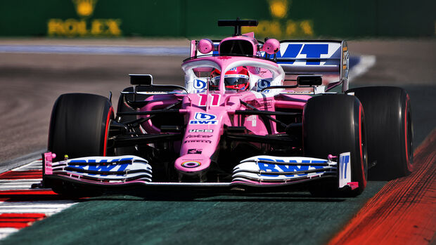 Sergio Perez - Racing Point - GP Russland - Sotschi - Formel 1 - 2020