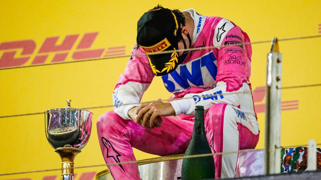 Sergio Perez - Racing Point - GP Sakhir 2020 - Bahrain