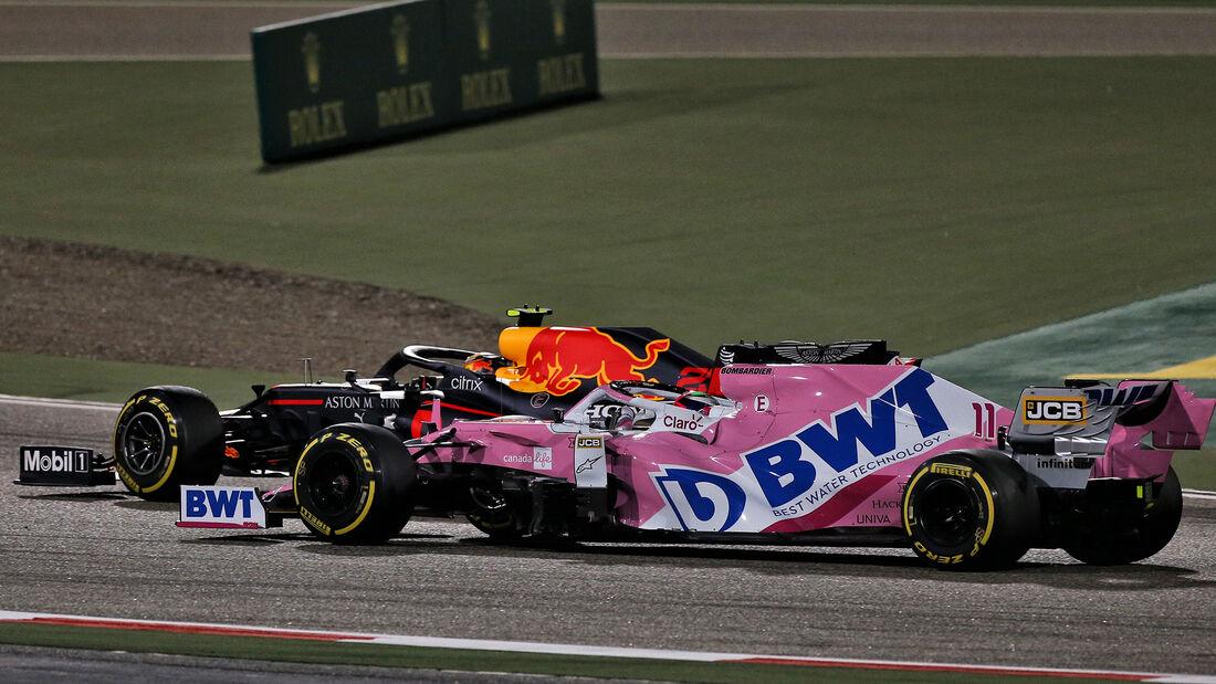 Sergio Perez - Racing Point - GP Sakhir 2020 - Bahrain - Rennen
