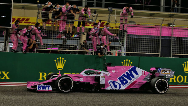 Sergio Perez - Racing Point - GP Sakhir 2020 - Bahrain - Rennen