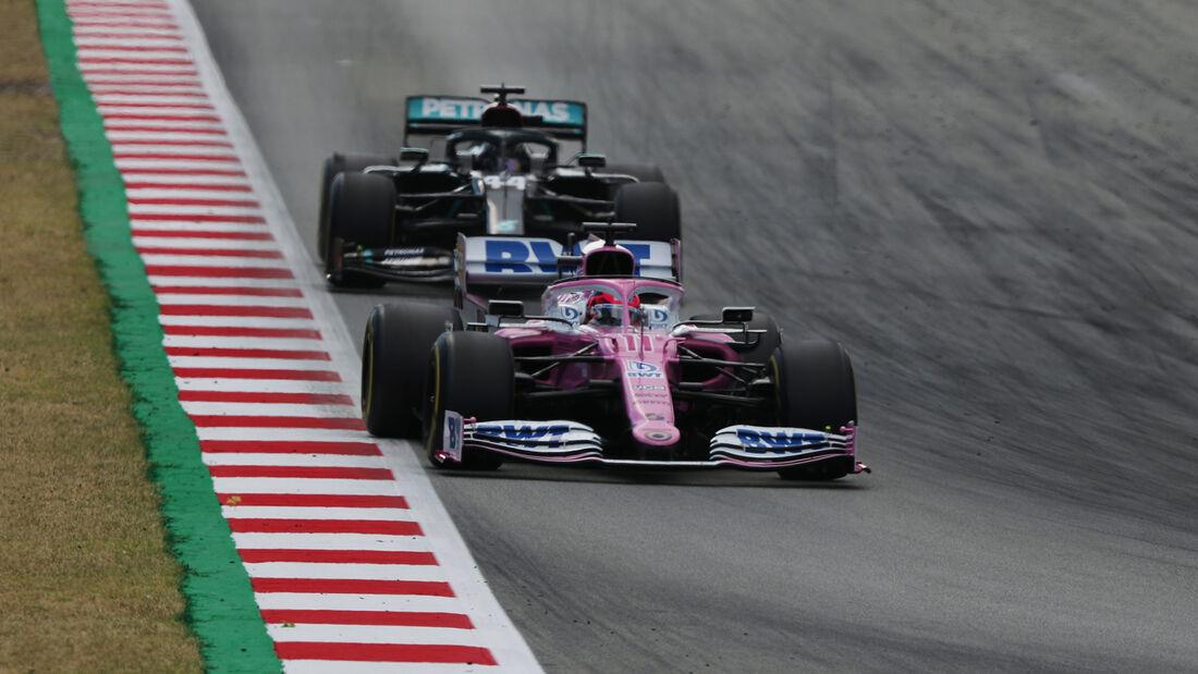 Sergio Perez - Racing Point - GP Spanien 2020 - Barcelona