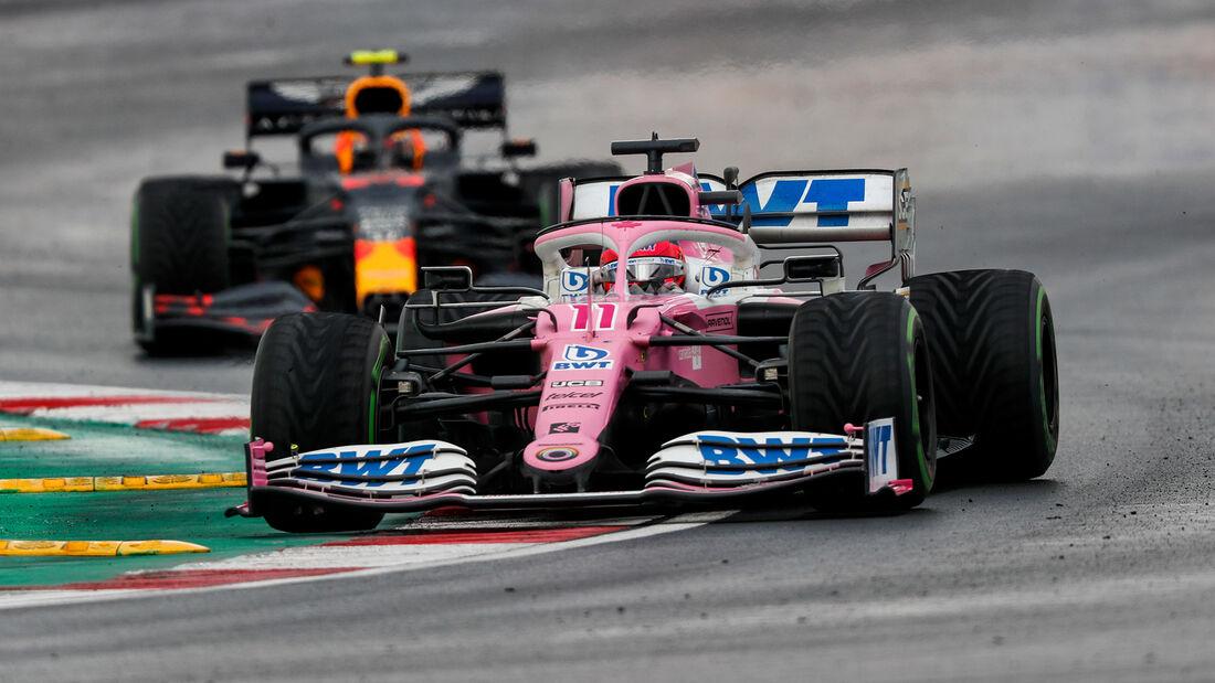 Sergio Perez - Racing Point - GP Türkei 2020 - Istanbul - Rennen