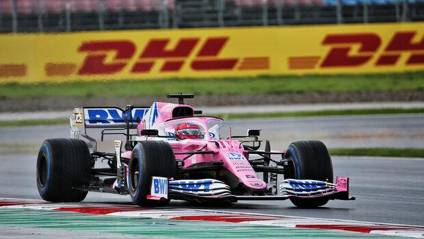 Sergio Perez - Racing Point - GP Türkei 2020 - Rennen