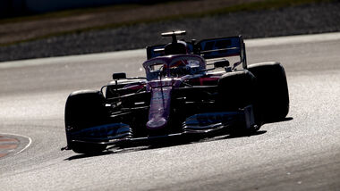 Sergio Perez - Racing Point - Testfahrten - Barcelona 2020