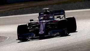 Sergio Perez - Racing Point - Testfahrten - Barcelona 2020