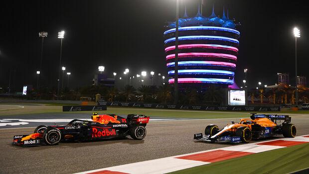 Sergio Perez - Red Bull - Formel 1 - GP Bahrain 2021 - Rennen