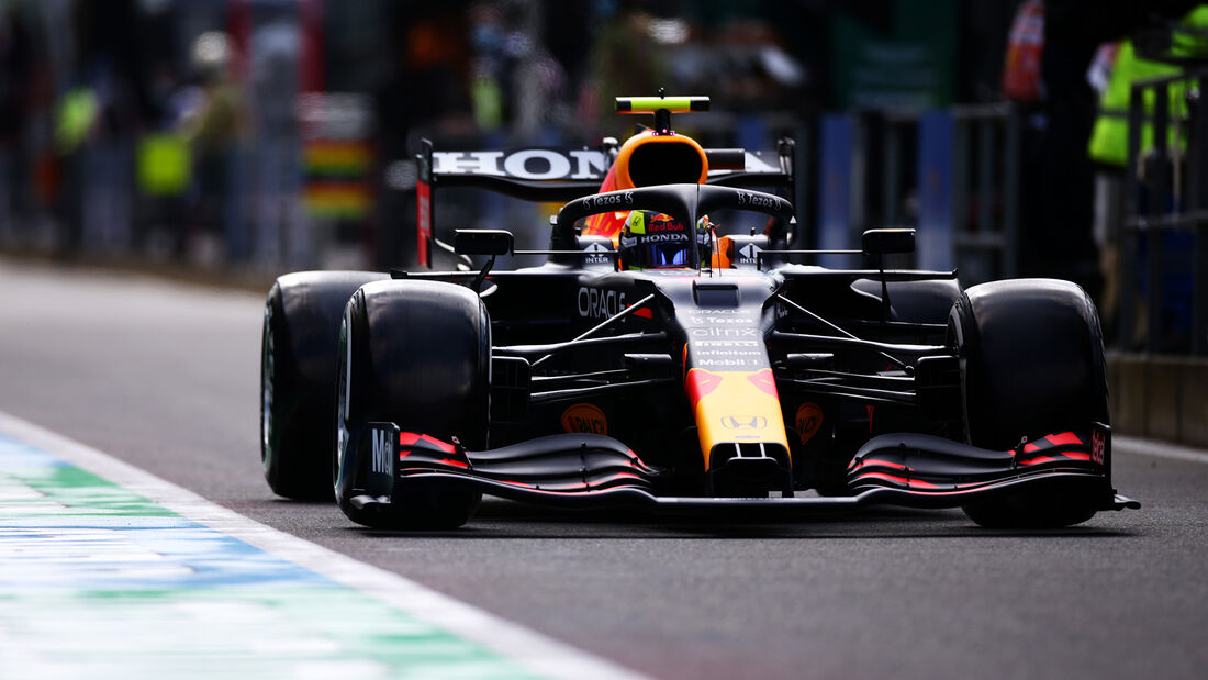 Sergio Perez - Red Bull - Formel 1 - GP Belgien - Spa-Francorchamps - 27. August 2021