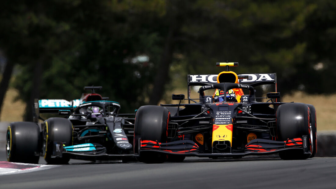 Sergio Perez - Red Bull - Formel 1 - GP Frankreich - Le Castellet - 19. Juni 2021