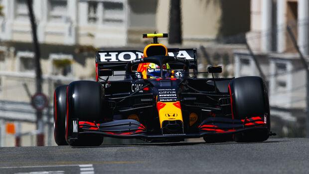 Sergio Perez - Red Bull - Formel 1 - GP Monaco - 20. Mai 2021