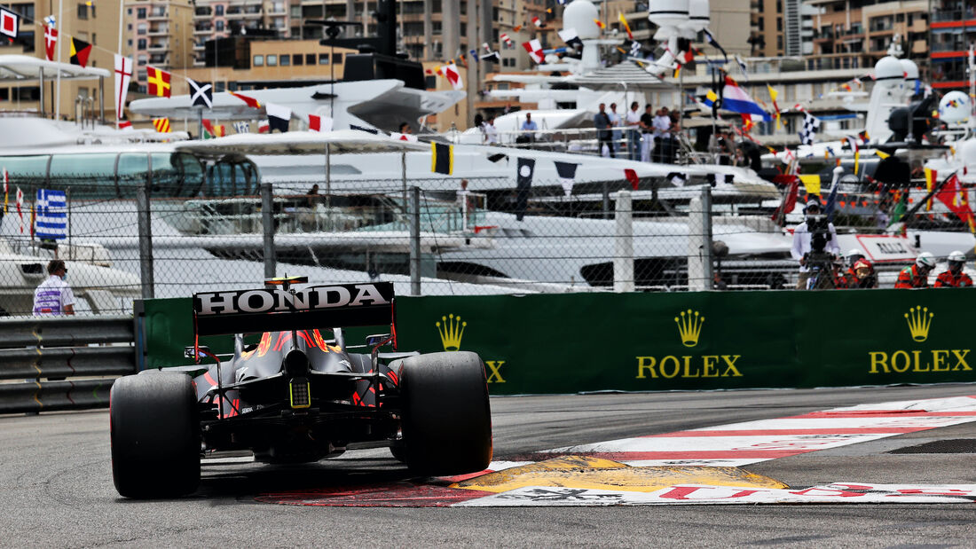 Sergio Perez - Red Bull - Formel 1 - GP Monaco - 22. Mai 2021