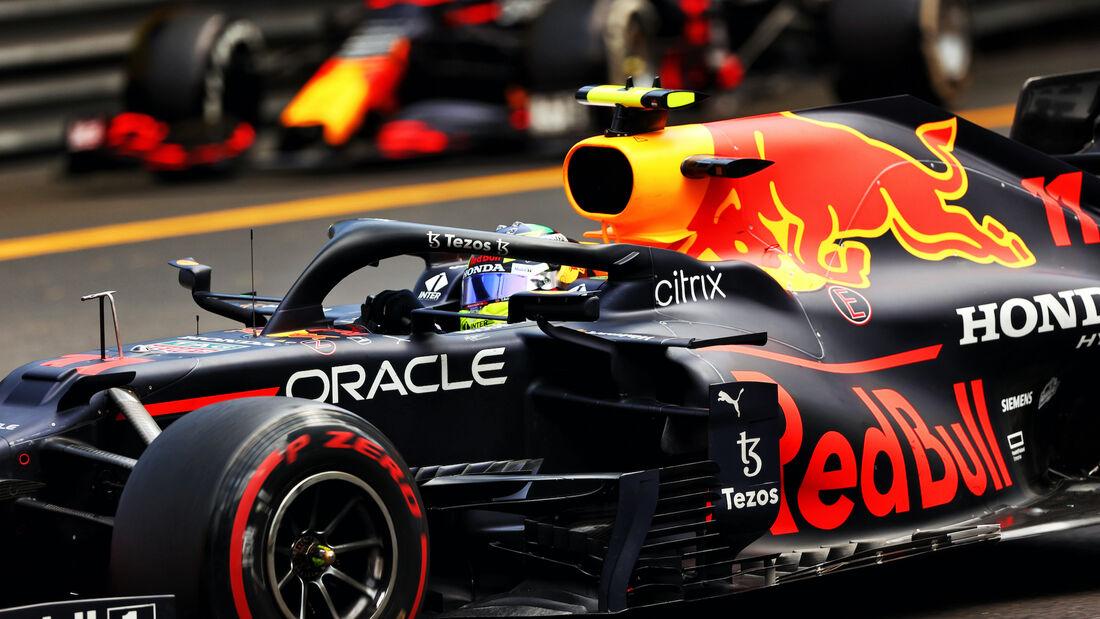 Sergio Perez - Red Bull - Formel 1 - GP Monaco - 23. Mai 2021