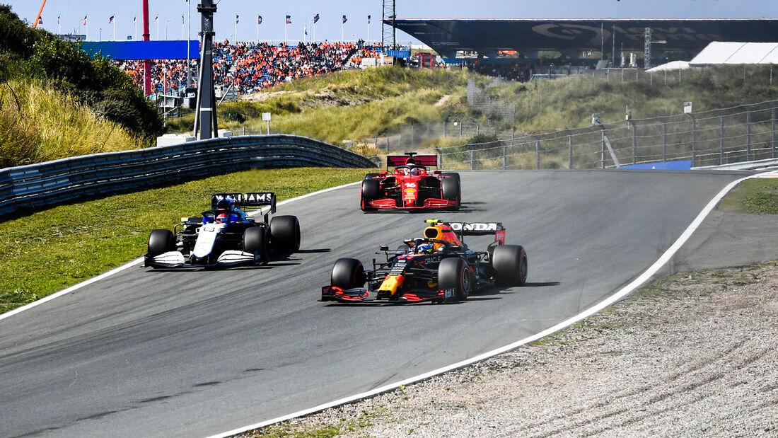 Sergio Perez - Red Bull - Formel 1 - GP Niederlande - 4. September 2021