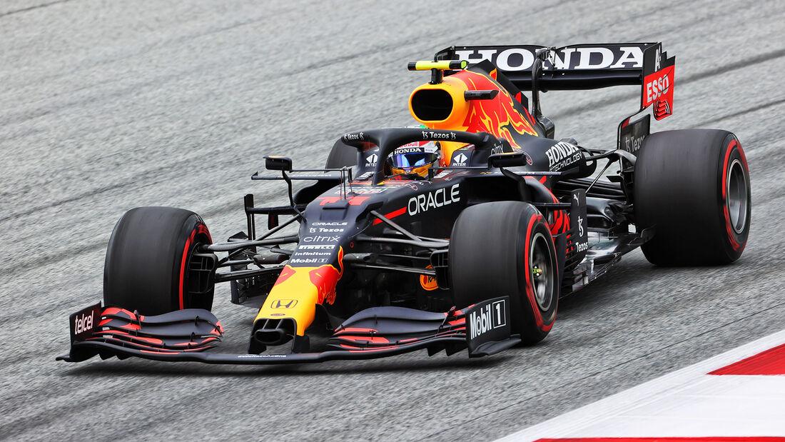 Sergio Perez - Red Bull - Formel 1 - GP Österreich - Spielberg - Freitag - 2.7.2021