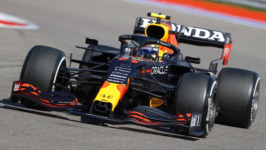 Sergio Perez - Red Bull - Formel 1 - GP Russland - Sotschi - 24. September 2021