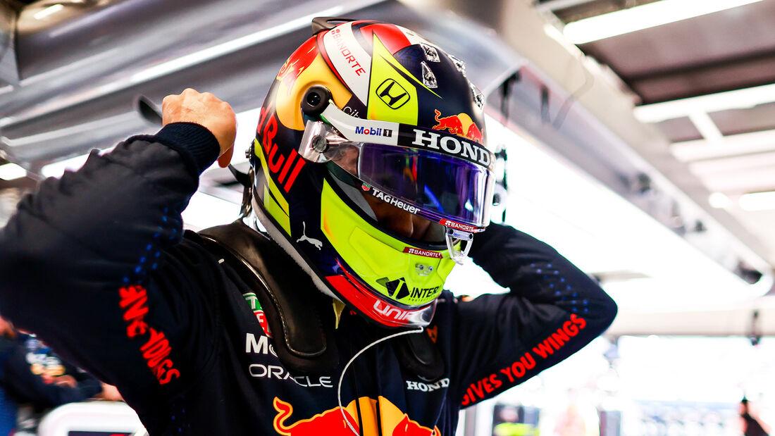 Sergio Perez - Red Bull - Formel 1 - GP Spanien - 7. Mai 2020