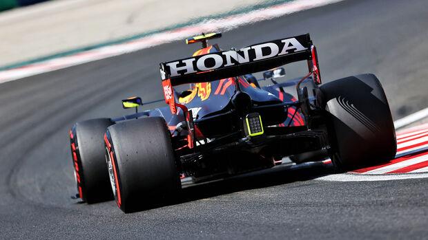 Sergio Perez - Red Bull - Formel 1 - GP Ungarn - Budapest - Samstag - 31. Juli 2021