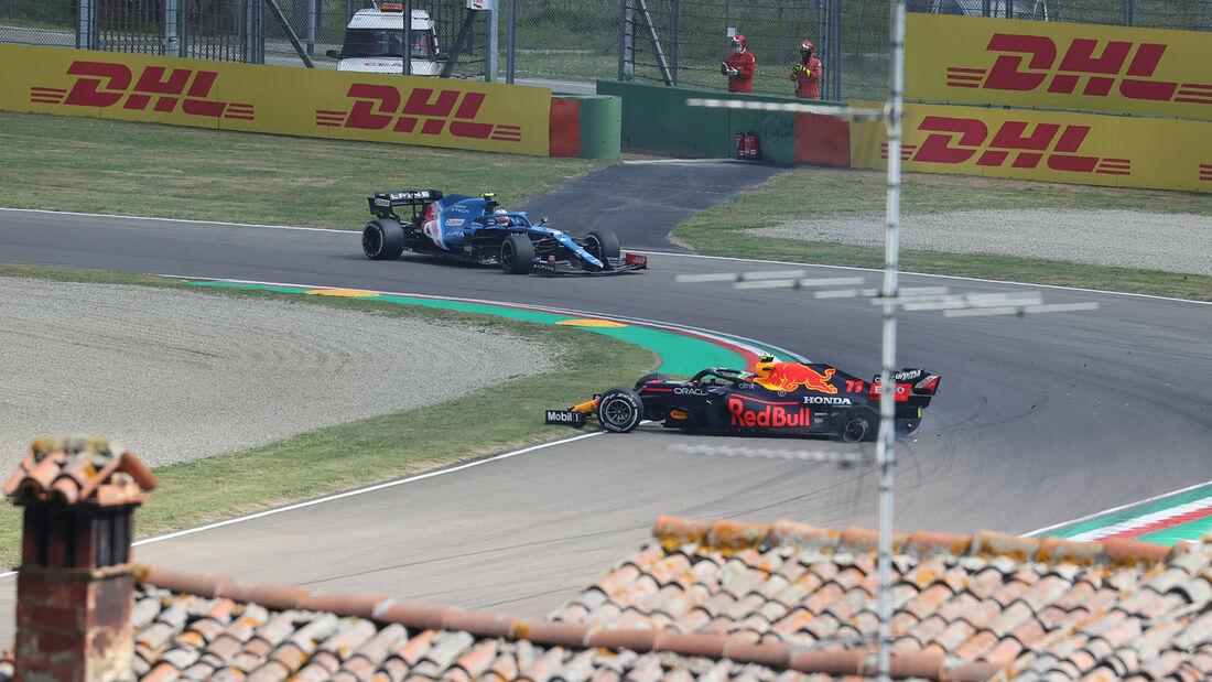 Sergio Perez - Red Bull - Formel 1 - Imola - GP Emilia-Romagna - 16. April 2021