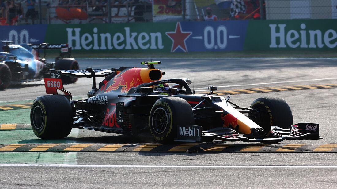 Sergio Perez - Red Bull - Formel 1 - Monza - GP Italien - 11. September 2021