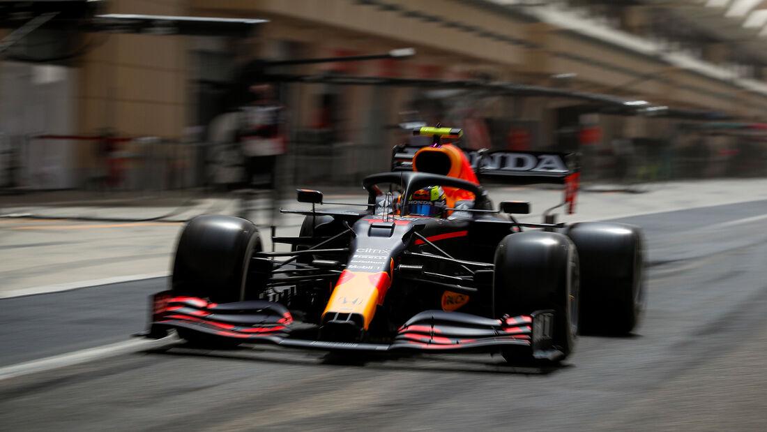 Sergio Perez - Red Bull - Formel 1 - Test - Bahrain - 13. März 2021
