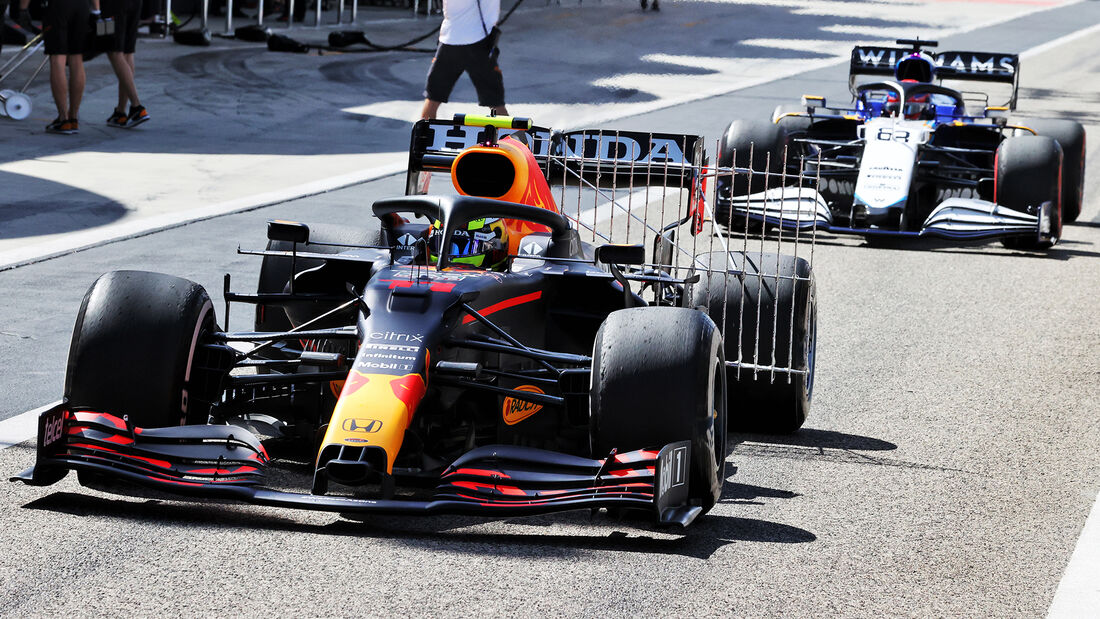 Sergio Perez - Red Bull - Formel 1 - Test - Bahrain - 14. März 2021
