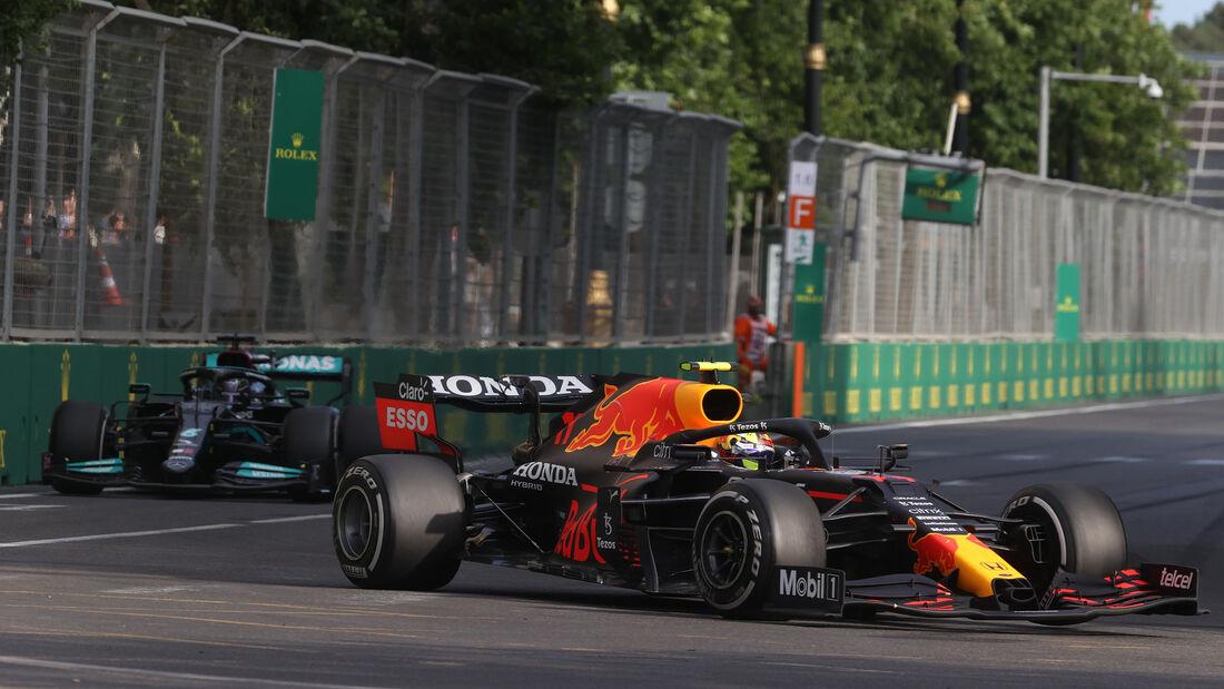 Sergio Perez - Red Bull - GP Aserbaidschan 2021 - Baku - Rennen