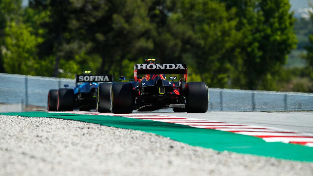 Sergio Perez - Red Bull - GP Spanien - Barcelona - Formel 1 - Samstag - 8.05.2021