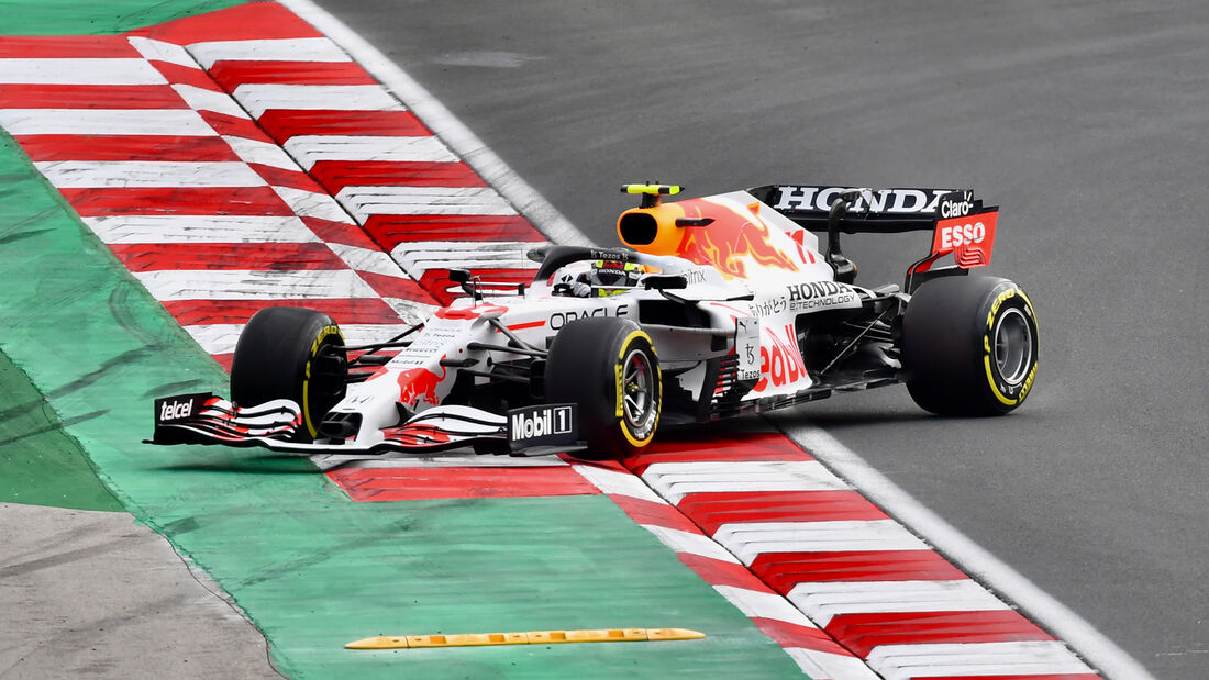 Sergio Perez - Red Bull - GP Türkei - Istanbul - Formel 1 - 9. Oktober 2021