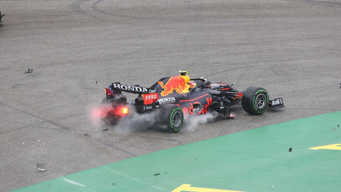 Sergio Perez - Red Bull - GP Ungarn 2021 - Budapest - Rennen