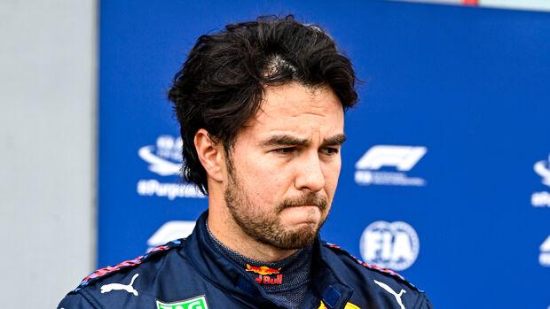 Sergio Perez - Red Bull - Imola - Formel 1 - GP Emilia Romagna - 17. April 2021