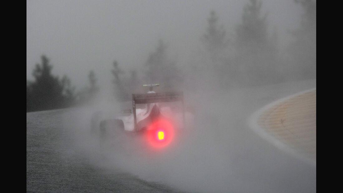 Sergio Perez - Sauber - Formel 1 - GP Belgien - Spa-Francorchamps - 31. August 2012