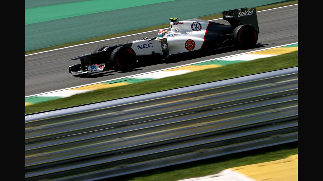 Sergio Perez - Sauber - Formel 1 - GP Brasilien - Sao Paulo - 23. November 2012