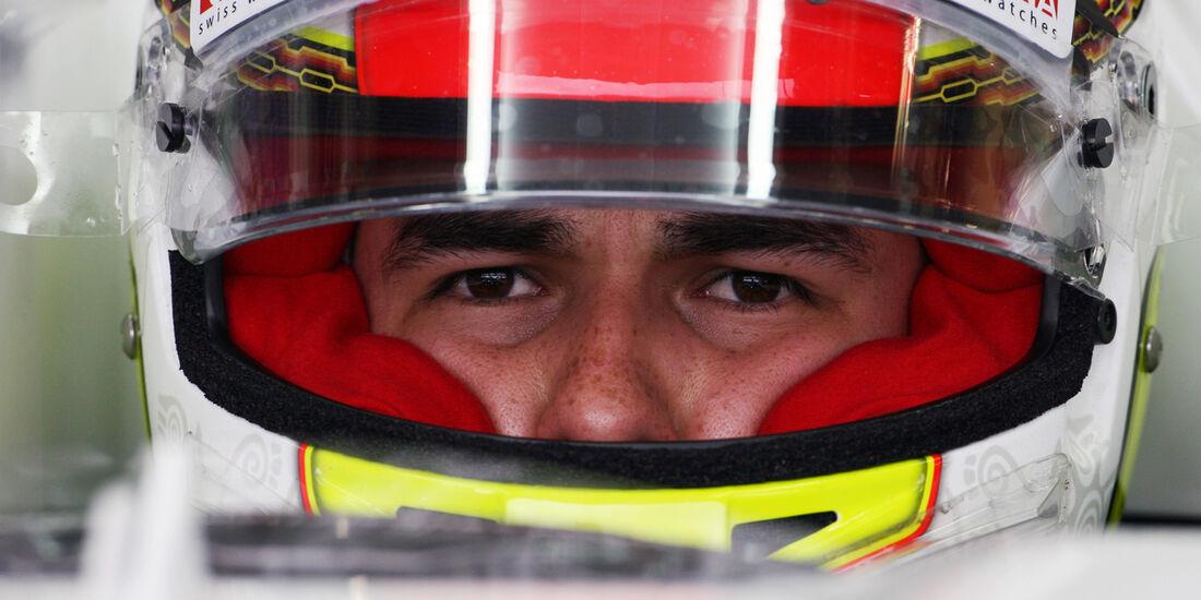 Sergio Perez - Sauber - Formel 1 - GP England - Silverstone - 6. Juli 2012