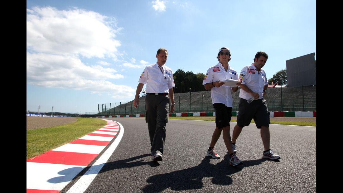Sergio Perez - Sauber - Formel 1 - GP Japan - Suzuka - 4. Oktober 2012