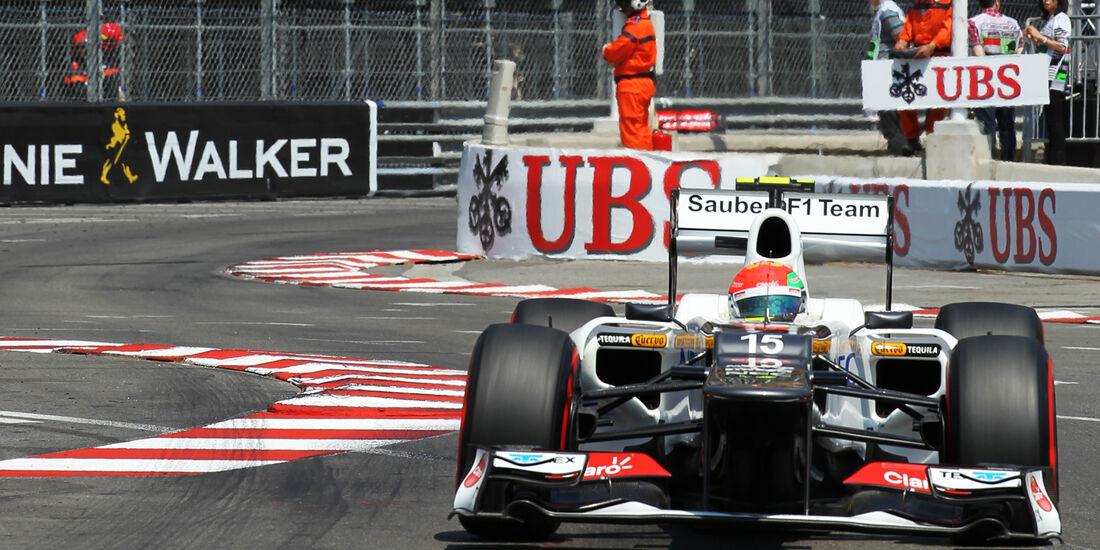 Sergio Perez - Sauber - Formel 1 - GP Monaco 2012