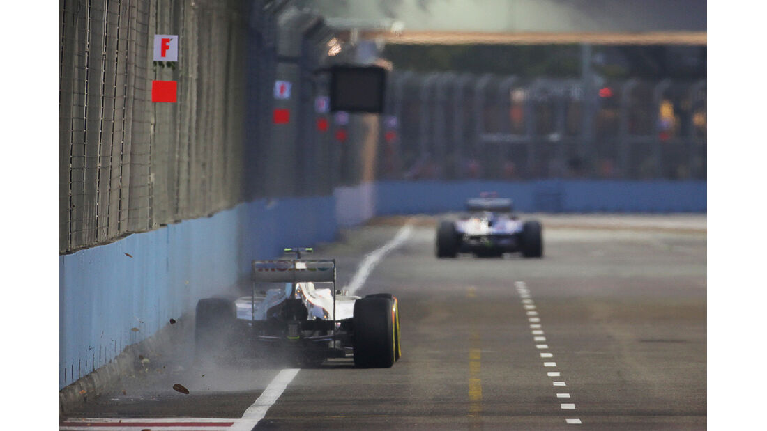 Sergio Perez - Sauber - Formel 1 - GP Singapur - 21. September 2012