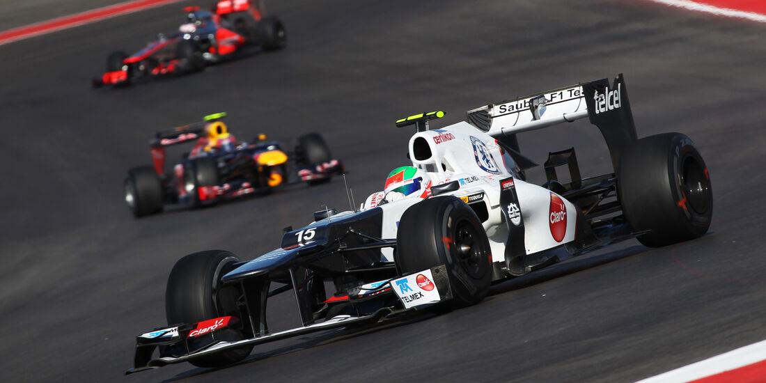 Sergio Perez - Sauber - Formel 1 - GP USA - Austin - 16. November 2012