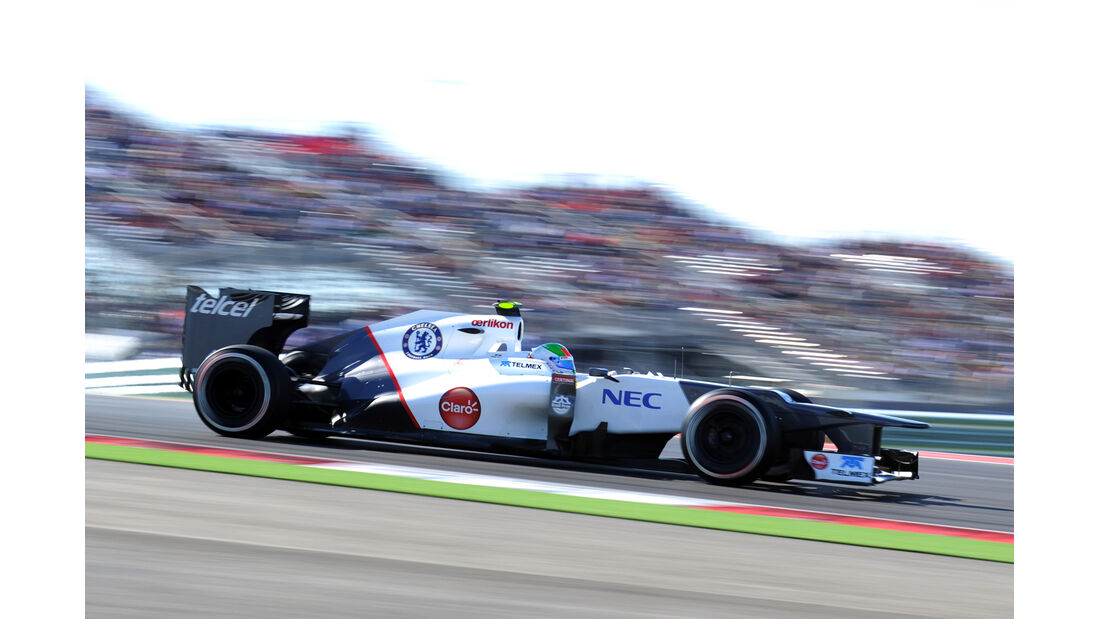 Sergio Perez - Sauber - Formel 1 - GP USA - Austin - 17. November 2012