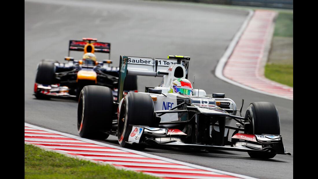 Sergio Perez - Sauber - Formel 1 - GP Ungarn - Budapest - 27. Juli 2012