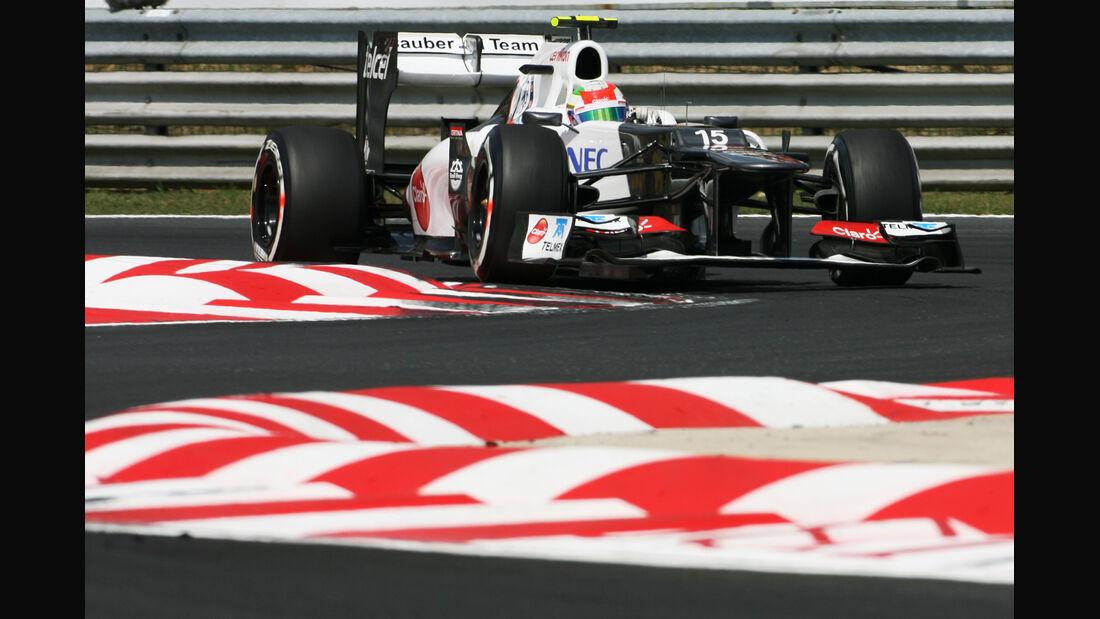 Sergio Perez - Sauber - Formel 1 - GP Ungarn - Budapest - 28. Juli 2012