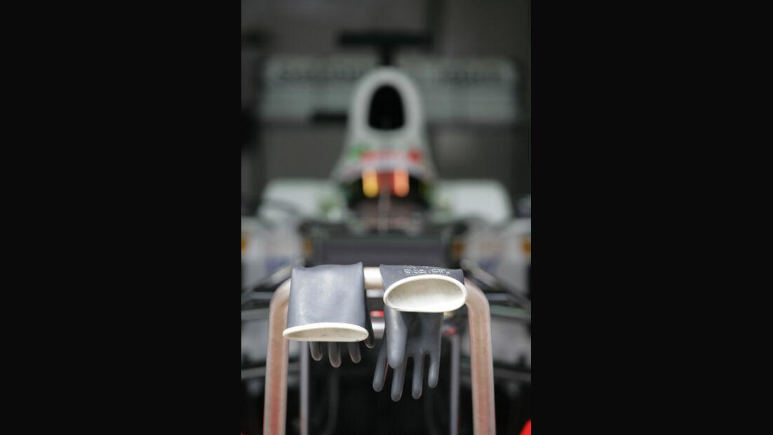 Sergio Perez - Sauber - Formel 1-Test - Barcelona - 2012