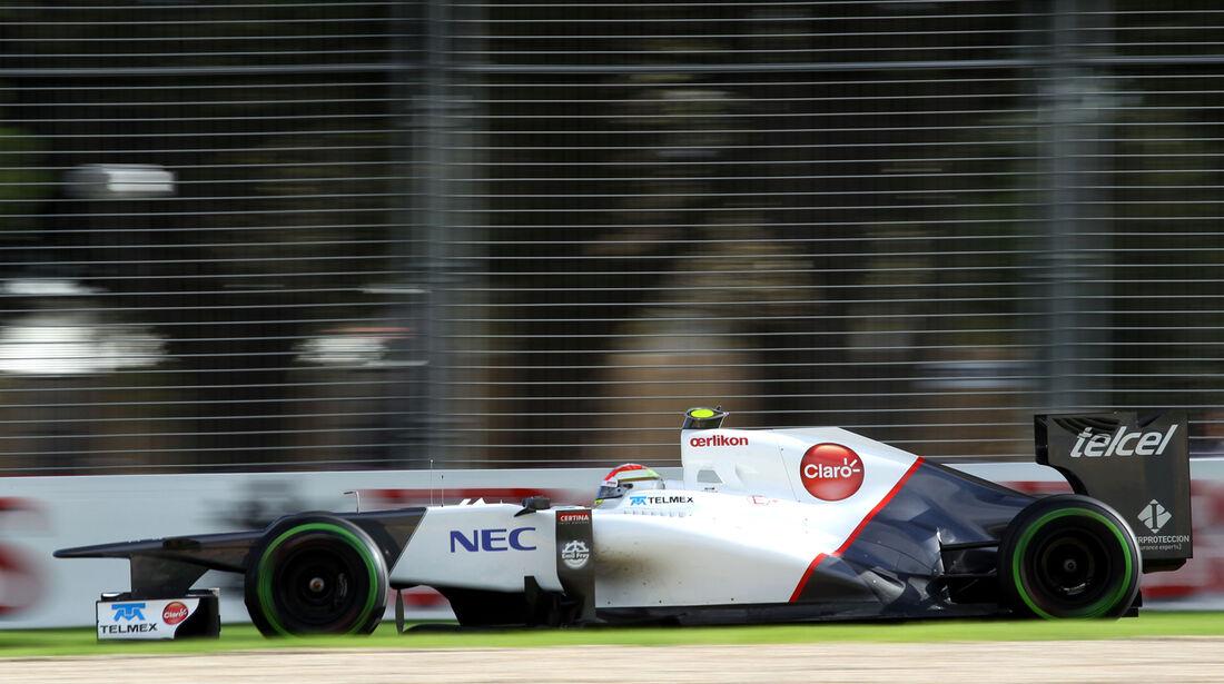 Sergio Perez Sauber GP Australien 2012