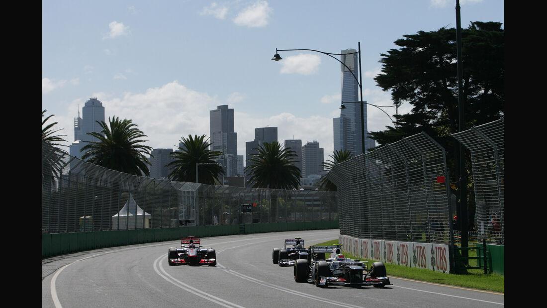 Sergio Perez - Sauber - GP Australien - Melbourne - 17. März 2012