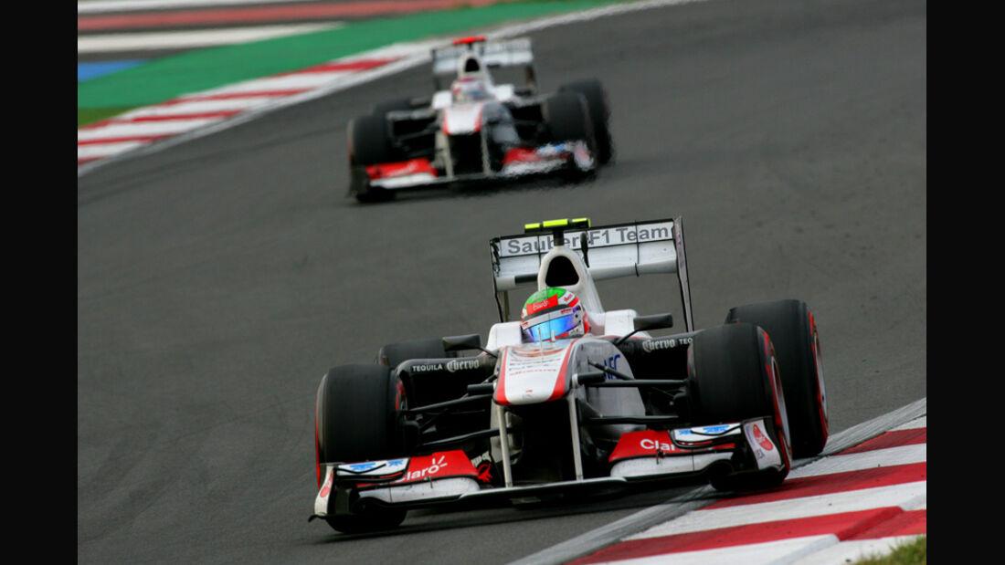 Sergio Perez Sauber GP Korea 2011