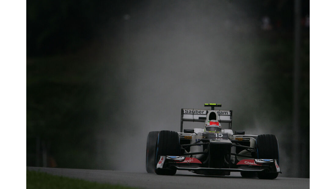 Sergio Perez - Sauber - GP Malaysia 2012
