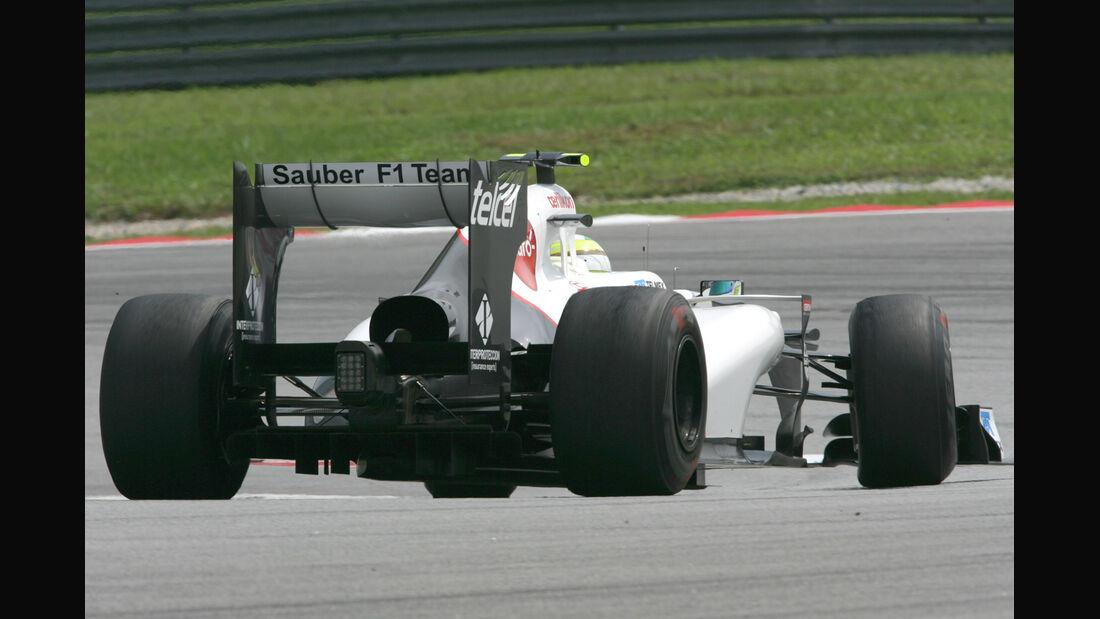 Sergio Perez - Sauber - GP Malaysia - Training - 23. März 2012