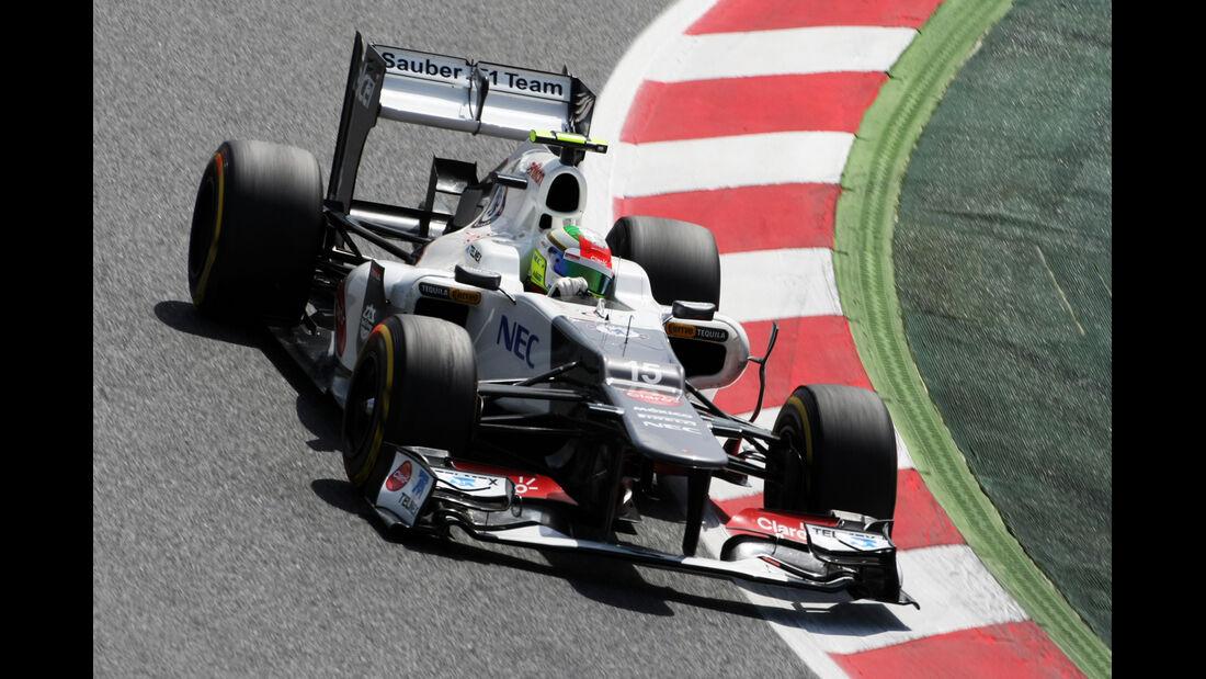 Sergio Perez - Sauber - GP Spanien - 12. Mai 2012